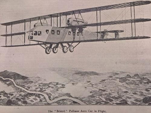 One hundred years of international passenger flights