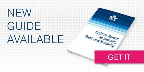New IATA Guidance Material for Improving Flight Crew Monitoring