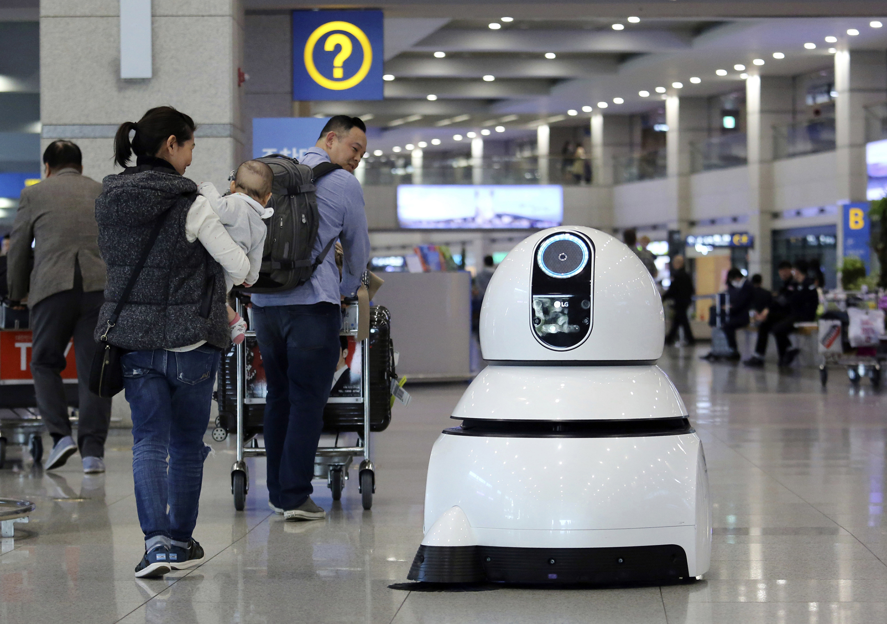 Rise of the airport robots