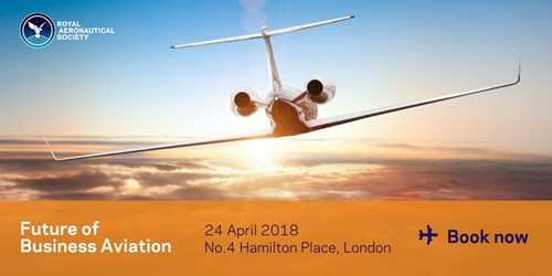Save the date for RAeS BizAv event