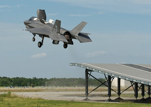 Inside F-35B flight test