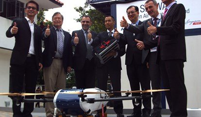 Blog - Skyways demo - Reps from Airbus, CAAS, Singapore Post and NUS.jpg