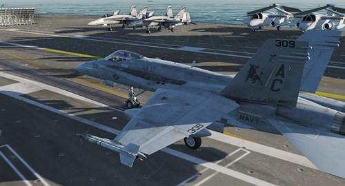 DCS F/A-18C Hornet – a first look